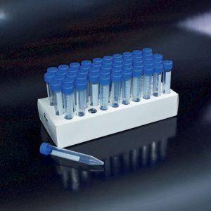 Ống ly tâm 15 ml để nuôi cấy tế bào, PP, Ø17x120mm, vô trùng, 50 cái/ pack – Mã: 30015