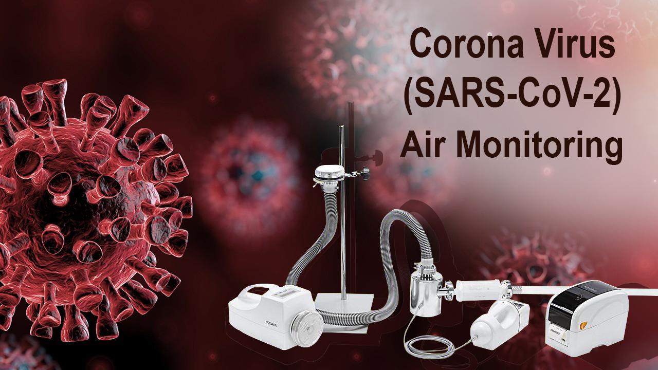 Phát hiện virus trong không khí bằng máy lấy mẫu không khí Sartorius