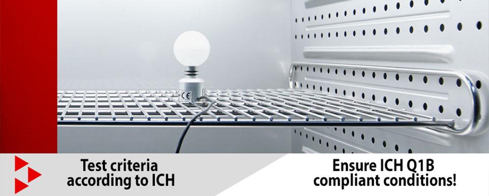 Tủ vi khí hậu có ánh sáng Binder: Kiểm tra độ quang hóa với nguồn sáng hoàn toàn mới theo tiêu chuẩn ICH Q1B