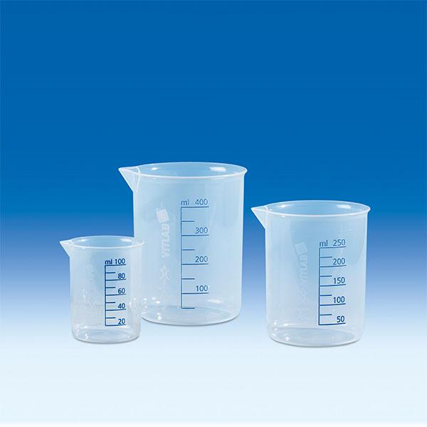 Cốc nhựa trong PP vạch xanh 250ml – Mã: 610081