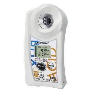 Khúc xạ kế điện tử đo độ ngọt và Acid ATAGO PAL-BX ACID101