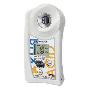 Khúc xạ kế điện tử đo độ ngọt và Acid ATAGO PAL-BX ACID15