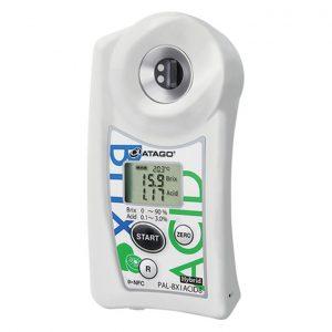 Khúc xạ kế điện tử đo độ ngọt và Acid ATAGO PAL-BX|ACID8