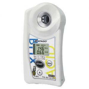 Khúc xạ kế điện tử đo độ ngọt và Acid ATAGO PAL-BX|ACID9
