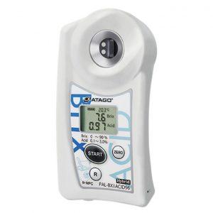 Khúc xạ kế điện tử đo độ ngọt và Acid ATAGO PAL-BX|ACID96