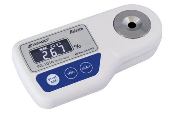 Khúc xạ kế điện tử đo độ ngọt Palette ATAGO PR-101alpha