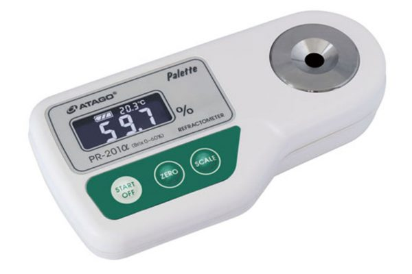 Khúc xạ kế điện tử đo độ ngọt Palette ATAGO PR-201alpha