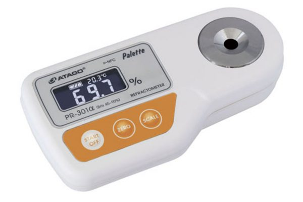 Khúc xạ kế điện tử đo độ ngọt Palette ATAGO PR-301alpha