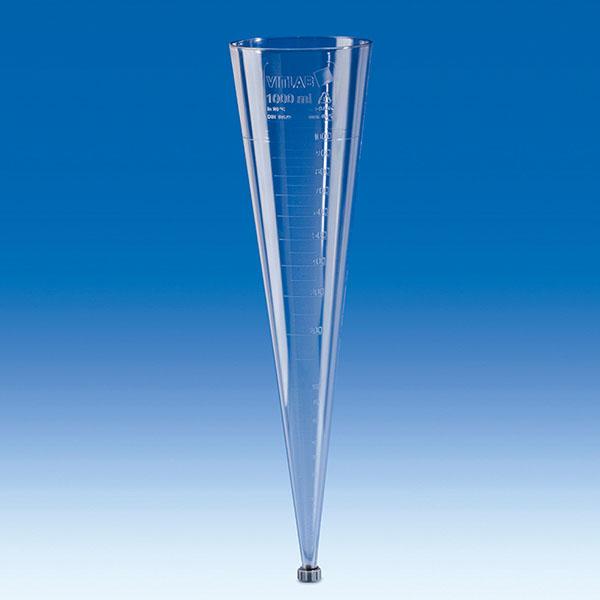 Phễu lắng Imhoff nhựa 1000ml – Mã: 75991