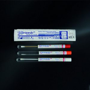 Que lấy mẫu tiệt trùng trong ống nghiệm