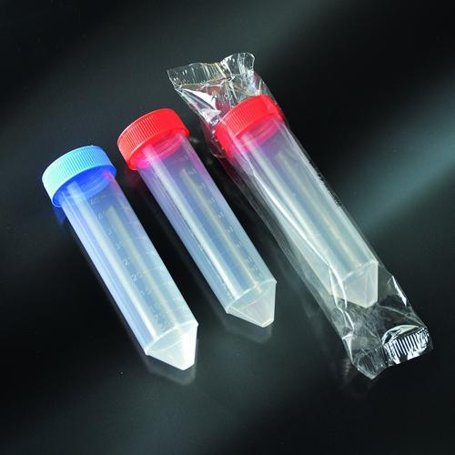 Tuýp ly tâm đáy nhọn tiệt trùng 50ml, PP, chia vạch, nắp vặn; Ø 30×115 mm,100 cái/ gói – Mã: 10351/SG