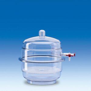 Bình hút ẩm nhựa có vòi PP/PC 171mm – Mã: 326496