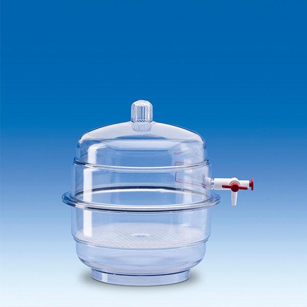 Bình hút ẩm nhựa có vòi PP/PC 230mm – Mã: 326596