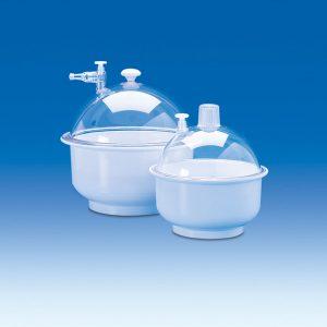 Bình hút ẩm nhựa có vòi PP/PC 150mm – Mã: 80550