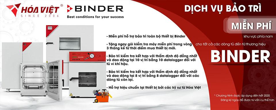 Hóa Việt: Dịch vụ bảo trì miễn phí và sửa chữa cho tất cả dòng tủ Binder