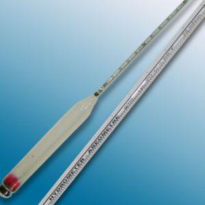 Tỷ trọng kế  0.850-0.950 : 0.001 g/ml Tp.20 độ C. Mã: 3110FG085/20-QP